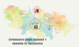 Copy of Experimento sobre densidad y principio de arquímedes