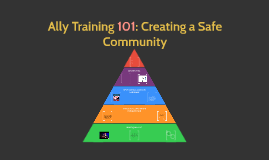 Ally Training 101: Creating a Safe Community