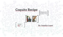 Coquito spanish recipe