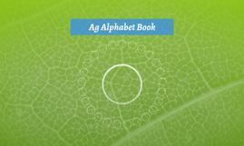 Ag Alphabet Book