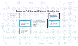 Copy of Economic,Political and Cultural Globalization