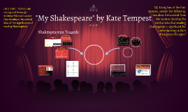 """""""My Shakespeare"""" by Kate Tempest"""