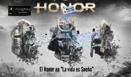 """El Honor en """"La vida es Sueño"""""""