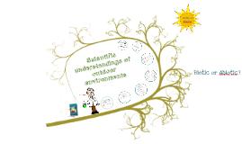 Copy of Scientific understandings of outdoor environments