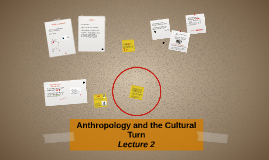 Anthropology and the Cultural Turn