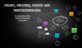 Policy, Politics, Power and Professionalism