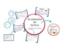 Copy of Estrategias de producción de textos