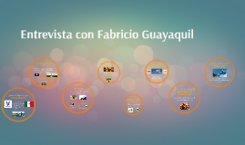 Entrevista con Fabricio Guayaquil