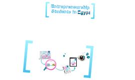 Copy of Entrepreneurship Students in Egypt