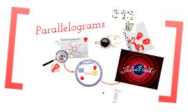 Geometry project Parallelogram