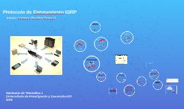 Protocolos de Enrutamiento IGRP
