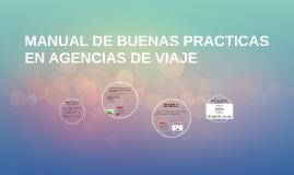 MANUAL DE BUENAS PRACTICAS EN AGENCIAS DE VIAJE