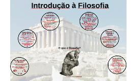 Aula 02: Introdução à Filosofia
