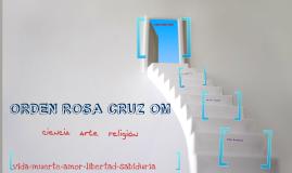ORDEN ROSA CRUZ OM
