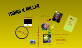 Copy of All About Me - Tarina Miller