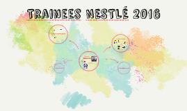 Trainees NESTLÉ 2016