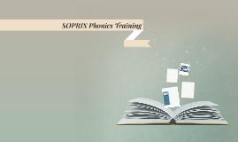 SOPRIS Phonics Training