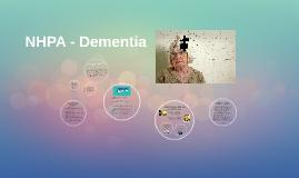 NHPA - Dementia