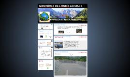 MONITOREO DE LíQUIDO LIXIVIADO