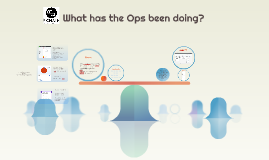 What has the Ops been doing?