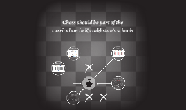 Chess should be part of the curriculum in Kazakhstan's schoo