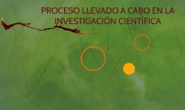 Copy of INVESTIGACIÓN CIENTÍFICA