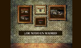3 DE MAYO EN MADRID