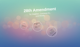 28th amendment The 24 amendment prohibits poll taxes, but republicans have found a loophole  by requiring specific forms of identification to register and vote.