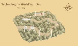 Copy of Technology in Word War One - Tanks