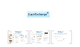 StackExchange - the Tour