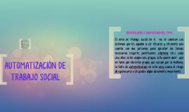 Automatizacion de trabajo social