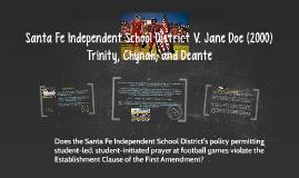 Santa Fe Independent School District V. Jane Doe (2000)