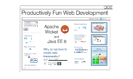 Productively Fun Web Development with Apache Wicket and Java EE 6 v3