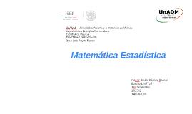 Matemática estadística