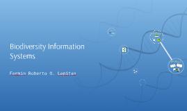 Biodiversity Information Systems