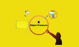 Copy of OBJECT PRONOUNS