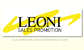 Leoni Spa Sales Promotion ITA