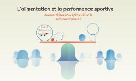 L'alimentation et la performance sportive
