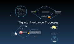 Copy of Dispute Avoidance Processes