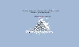 Copy of EVALUACION DE IMPACTO  AMBIENTAL  Y EXTRUCTURACION DE UN SIS