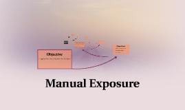 Manual Exposure