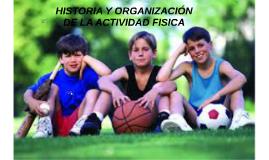 HISTORIA DE LA ACTIVIDAD FISICA