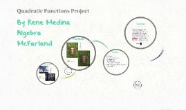 Quadratic Functions Project