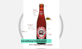 Food and Beverage Pairing Assignment