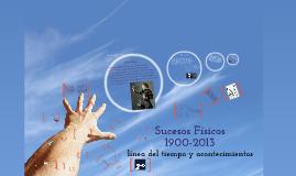Copy of Los acontecimientos fìsicos  desde 1900 hasta el 2013