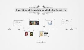 La critique de la société au 18ème siècle
