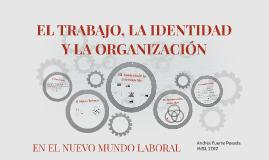 Copy of EL TRABAJO, LA IDENTIDAD Y LA ORGAIZACIÓN