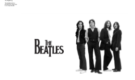 The Beatles started