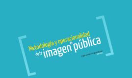 Operacionalidad de la imagen pública