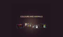 Animals - revision colours